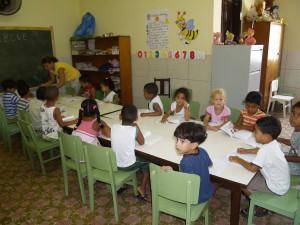 Kleuterschool in Pão de Açúcar