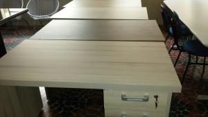 nieuw bureau
